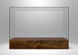 canvas print picture - Glass Display Case