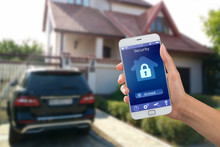 Smartphone With Home Security ...