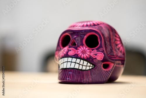 Fotografía  Mexican skull craft from dia de los muertos, mexican tradition