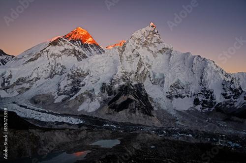 Cuadros en Lienzo Last Light On Everest