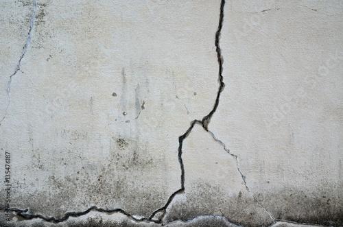 Fotografía  ひび割れた壁