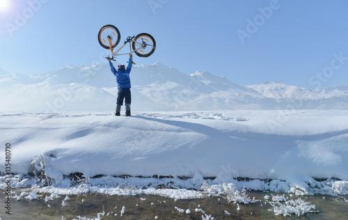 kış bisiklet sürüşü ve başarısı