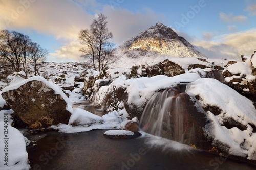 Photo  Buachaille Etive Mor in winter