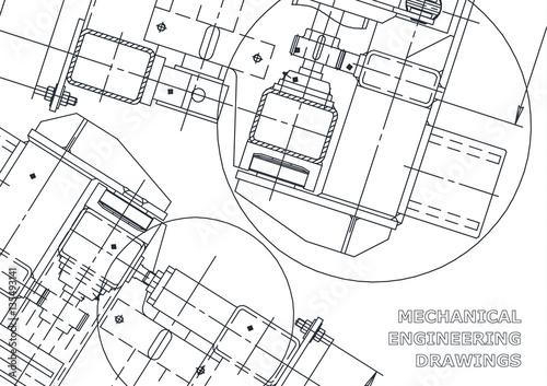 Buy Blueprints   Mechanical Engineering Drawing Blueprints Mechanics Cover