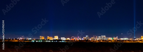 Photo  Las Vegas at Night