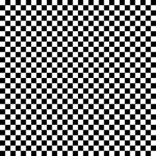 Black And White Checkered Patt...