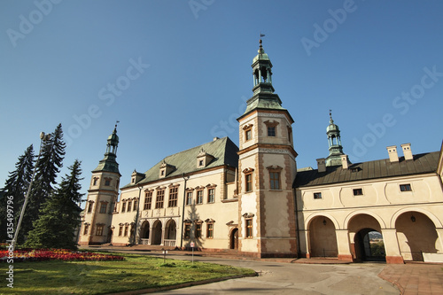 palace-of-the-krakow-bishops-in-kielce-poland