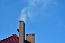 Biały Dym Z Komina