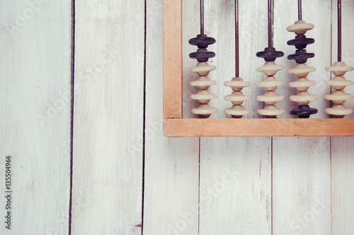 old-vintage-abacus-on-wooden-background