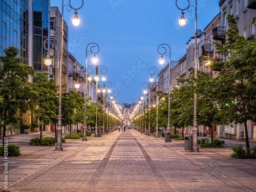 Sienkiewicza street City in Kielce