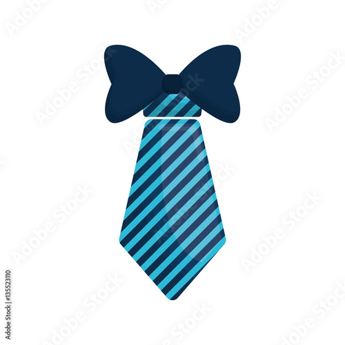 Photographie necktie bowtie elegant father day vector illustration eps 10