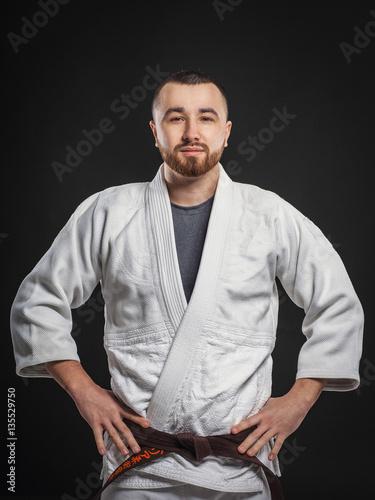 Fotografie, Obraz  coach Jiu Jitsu and Judo
