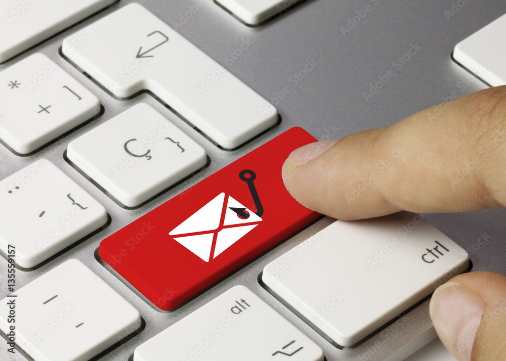 Fototapeta Phishing email