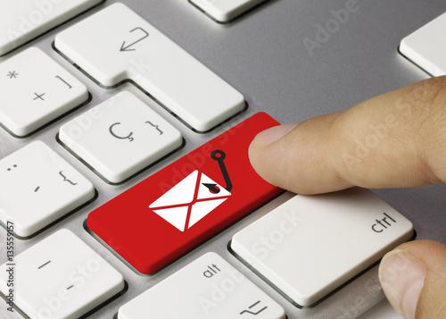 Fotografía  Phishing email