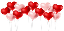 Red And Pink Balloons