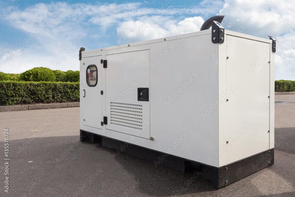 Poster, Foto Mobile diesel generator for emergency electric