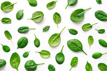 Spinach Pattern Background On ...