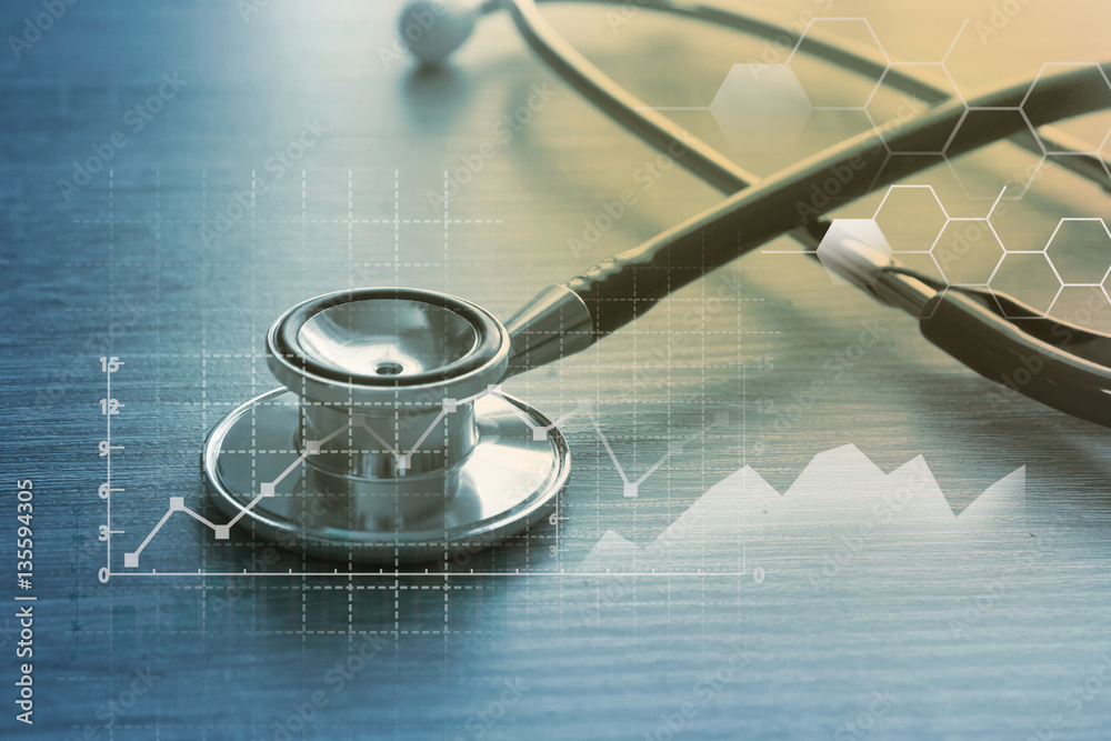 Fototapety, obrazy: Medical marketing and Healthcare business analysis report