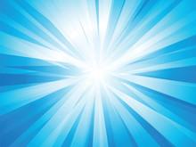 Blue Rays Sun