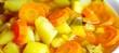 Eintopf mit Kartoffeln und Karotten