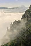 Góra, las i chmury. - 135612123