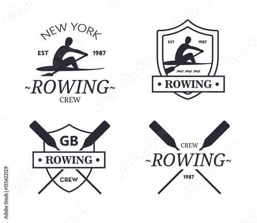 Photo Rowing team logo