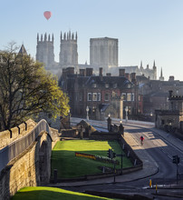 York Minster And Bridge In Cal...
