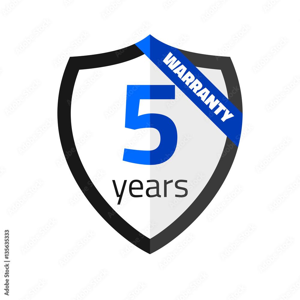 Fototapeta Warranty 5 years