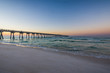 Peir at Panama City Beach, Florida at Sunrise