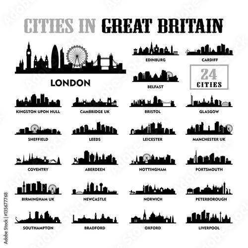 Photo  Great Britain - United Kingdom Cities City Tour Travel Skyline