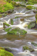 Waterfall in the national park Sumava-Czech Republic