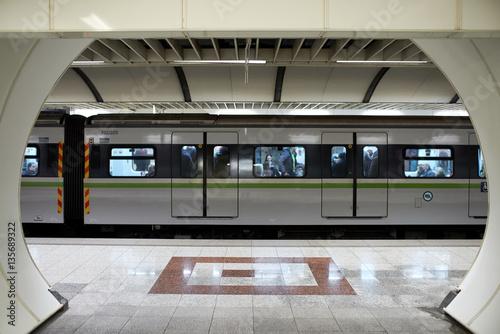 Zdjęcie XXL Pociąg metra.