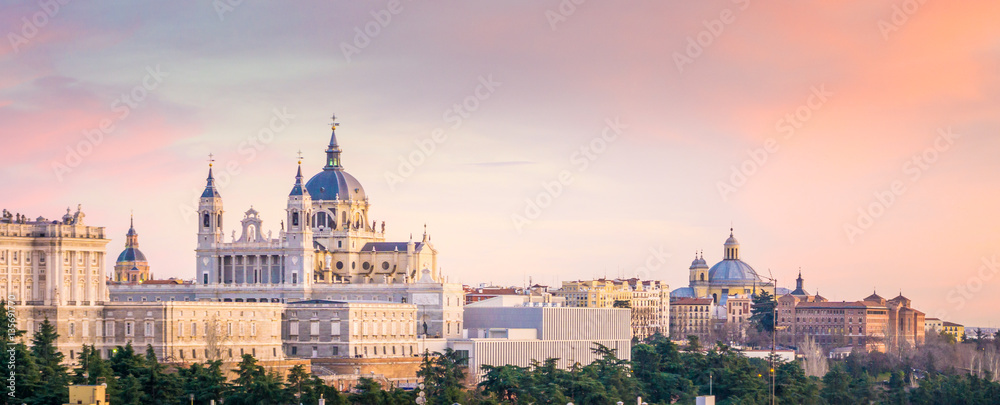 Fototapety, obrazy: The Cathedral of Madrid