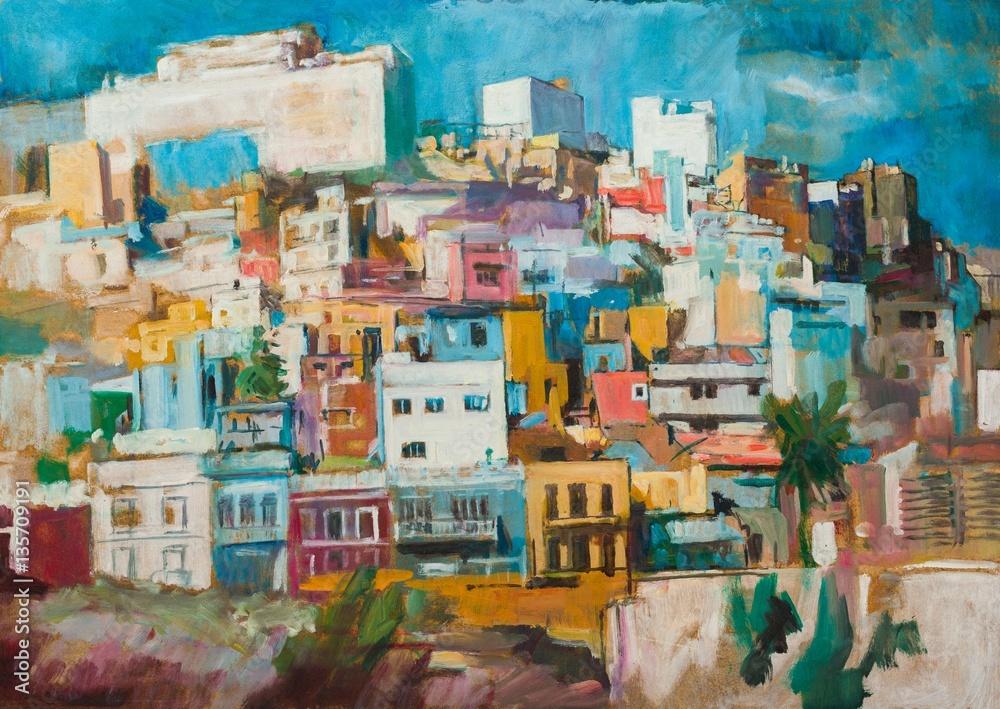 Las Palmas painting