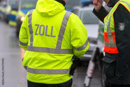 Fotografie, Obraz  Zoll - Zollbeamter
