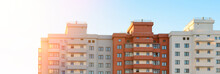 New Block Of Flats Building. Real Estate Web Banner.