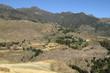 Die Landschaft bei Mekele in Äthiopien