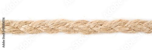 Fototapeta Line of a linen rope string obraz