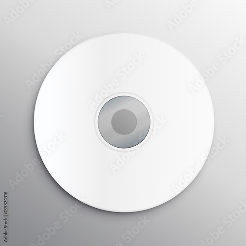 empty cd cover design mockup template - Buy this stock vector and ...