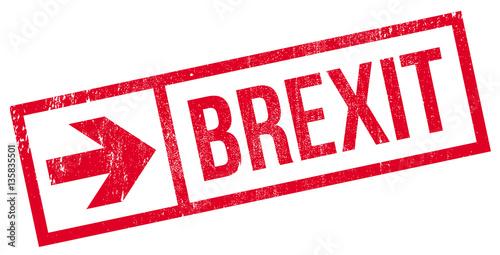 Valokuva  Brexit stamp