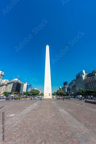 Cadres-photo bureau Buenos Aires The Obelisk (El Obelisco) in Buenos Aires.