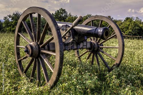 Fotografie, Obraz  12 Pounder Light Field Howitzer