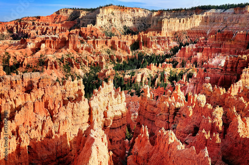 Fotobehang Natuur Park Bryce Canyon National Park in Utah, USA