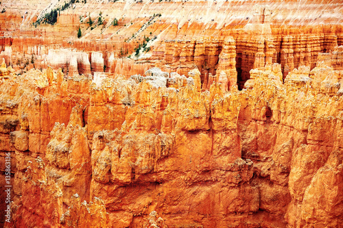 Tuinposter Natuur Park Bryce Canyon National Park in Utah, USA