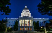 Capitol In Sacramento, Califor...