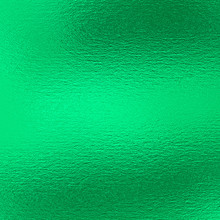 Green Foil Texture Background