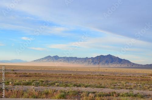 Zdjęcie XXL Pustynna scena w Nevadzie