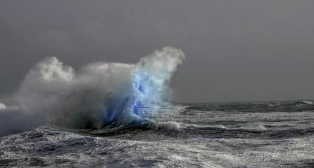 Obraz Tempête,Bretagne