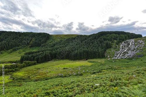 Foto auf Gartenposter Hugel Irland - Wicklow Mountains