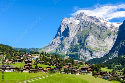Fototapeta  Grindelwald - beautiful village in mountain scenery -  Switzerland